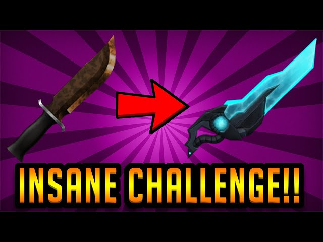 Common To Mythic Knife Challenge Roblox Assassin دیدئو Dideo