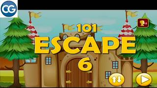 Walkthrough 501 Free New Escape Games Level 6 101 Escape 6 Complete Game دیدئو Dideo