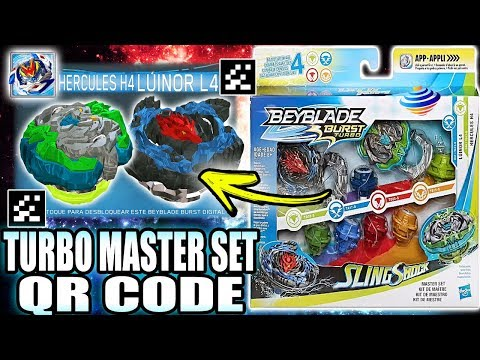 Qr Codes Turbo Master Set Beyblade Burst Turbo App Collab دیدئو Dideo