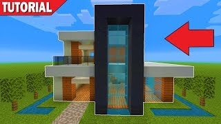 Minecraft How To Build A Small Modern House Tutorial 6 دیدئو Dideo