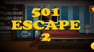 501 Level New Room Escape Games Level 2 Classic Door Escape Walkthrough دیدئو Dideo