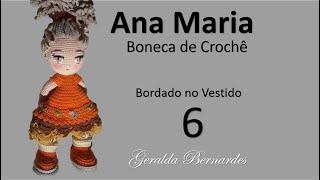 Boneca de crochê com o vestido da moda, crochê Amigurumi Toy ... | 180x320