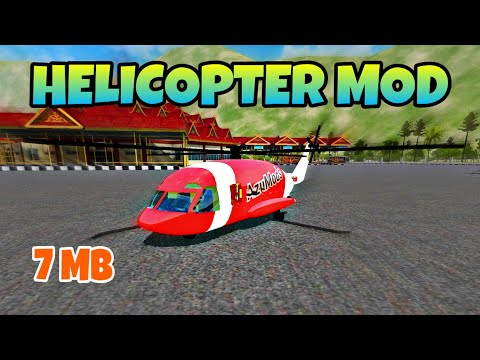 Bussid Mod Helicopter Bus Simulator Indonesia دیدئو Dideo