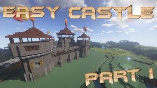 Kenilworth Castle In Minecraft Part 1 Exterior دیدئو Dideo