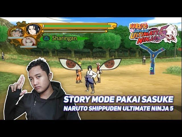 Langka Pake Sasuke Di Story Mode Naruto Shippuden Ultimate Ninja 5 Ps2 دیدئو Dideo