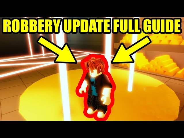 Bank Robbery Roblox Jailbreak Full Guide New Bank And Jewelry Store Update Roblox Jailbreak Update دیدئو Dideo