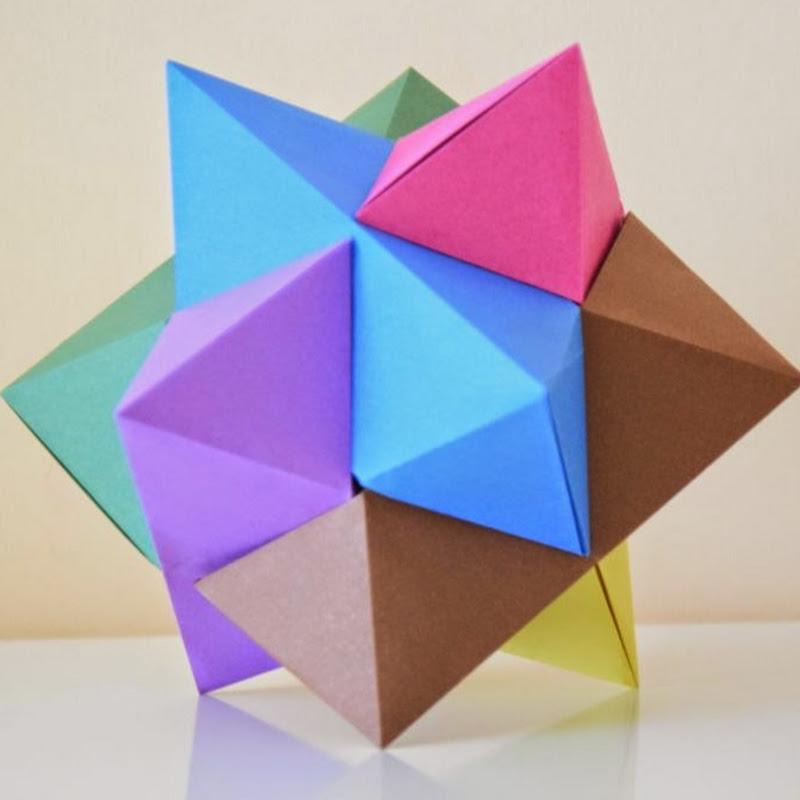 Origami Kalami Star (Tine Pape) - YouTube | Origami, Papiersterne ... | 800x800