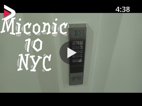 Awesome Schindler Miconic 10 High Speed Elevators 1211 Avenue Of The Americas New York City دیدئو Dideo