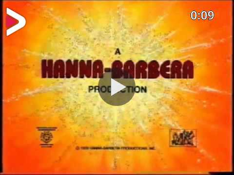 Hanna Barbera Swirling Star 1979 With Time Warner Byline دیدئو Dideo