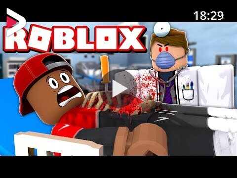 Escape The Hospital Roblox Games Escape The Evil Zombie Hospital In Roblox With The Prince Family دیدئو Dideo