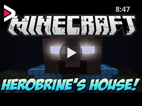 Minecraft Herobrine S House Build Showcase 1 5 1 دیدئو Dideo