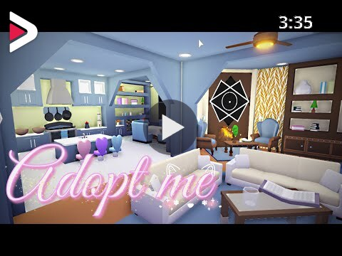 Adopt Me Futuristic House Tour Build Ideas With Poetic Demon دیدئو Dideo